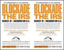 2-up blockade flyer