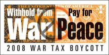 War Tax Boycott logo