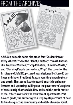 From the Archives: S.P.E.W Magazine