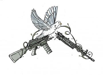 War Resisters League Logo