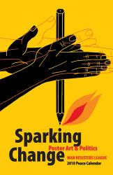 Sparking Change: 2010 Peace Calendar cover