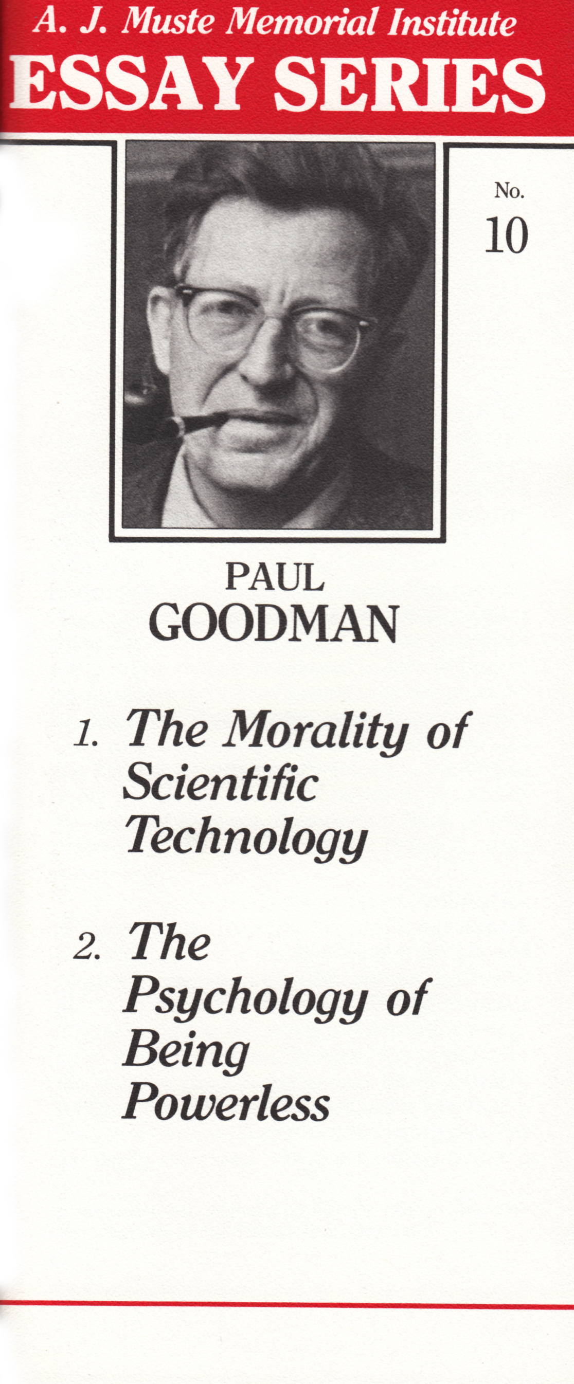"""paul goodman utopian essays The paul goodman reader (review)  we have such essays as the """"preface to utopian essays and prac -  the paul goodman reader speaks to us all."""