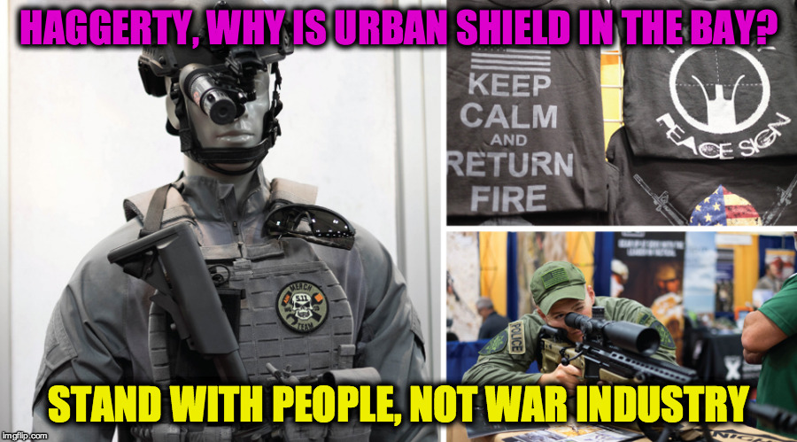 Haggerty: Why is Urban Shield in the Bay Area