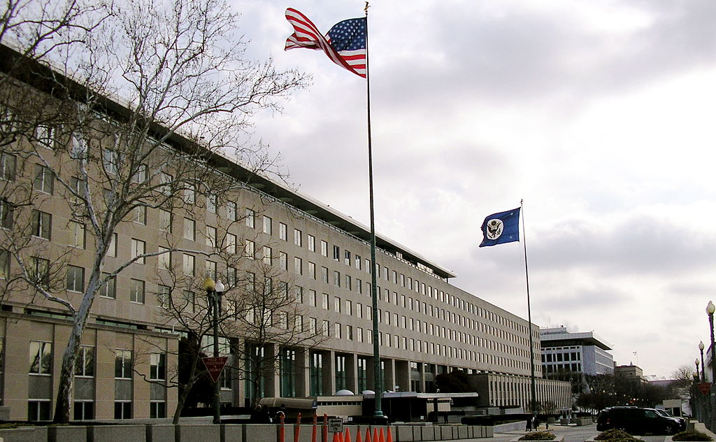 The Harry S Truman Building in Washington DC. Headquarters of the US Department of State. Wikimedia Commons. 27 March 2007