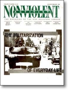 Nonviolent Activist January-February 2006 cover