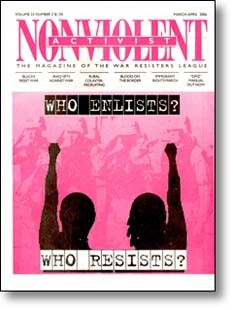 Nonviolent Activist March-April 2006 cover