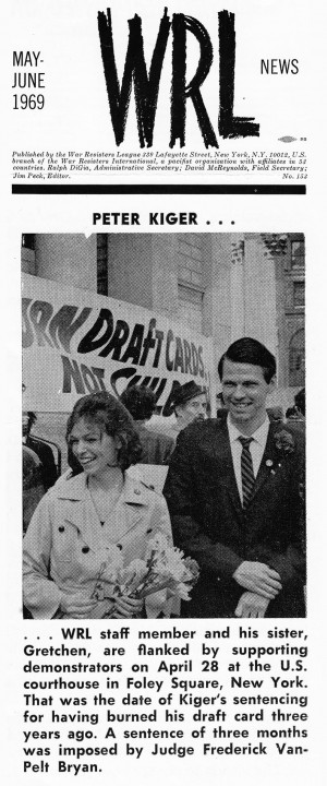 Image - Peter Kiger Before Sentencing, WRL News May-June 1969