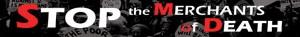 Stop the Merchants of Death logo