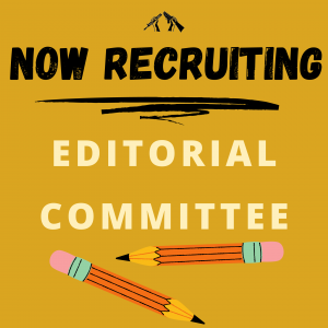 Now Recruiting WRL Editorial Committee