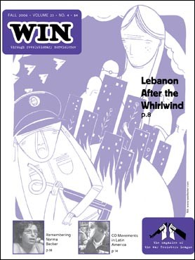 WIN Fall 2006: Lebanon After the Whirlwind