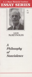 A Philosophy of Nonviolence by David McReynolds