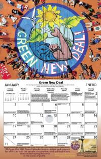 Syracuse Cultural Workers 2021 Peace Calendar - January
