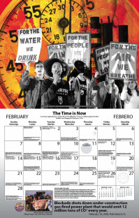 Syracuse Cultural Workers 2021 Peace Calendar - February