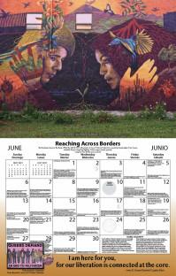 Syracuse Cultural Workers 2021 Peace Calendar - June