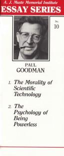 Two essays by Paul Goodman