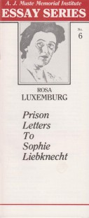 Prison Letters by Rosa Luxemburg