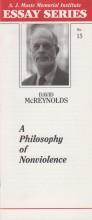 A Philosophy of Nonviolence by David McReynolds