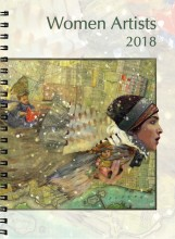 Syracuse Cultural Workers 2018 Women Artists Datebook - Cover