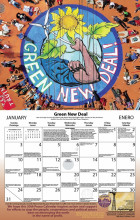 Syracuse Cultural Workers 2021 Peace Calendar - January