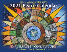 Syracuse Cultural Workers 2021 Peace Calendar - Cover