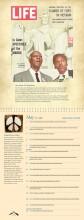 WRL Perpetual Calendar page - A Philip Randolph & Bayard Rustin