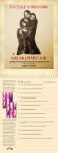 WRL Perpetual Calendar page - For Peace in Indochina