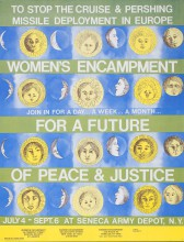 Seneca Women's Peace Encampment Poster