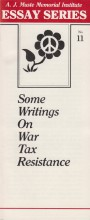 Some Writings on War Tax Resistance