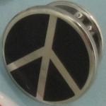 Peace Symbol Pin