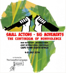 WRI Poster: Small Actions - Big Movements, the Continuum of Nonviolence