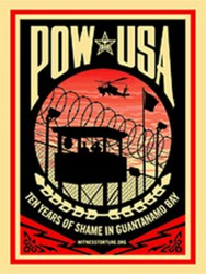 Witness Against Torture logo: Ten Years of Shame in Guantanamo Bay