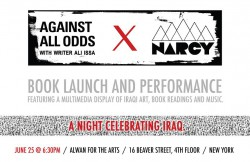 Against All Odds: Voices of Popular Struggle in Iraq book launch flyer