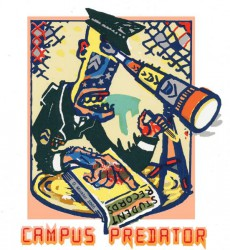 Illustration: Campus Predator, by Douglas Minkler