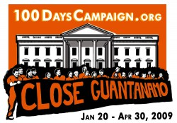 100 Days Campaign logo