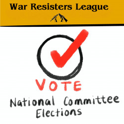 War Resisters League: VOTE National Committee Elections