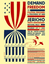 Jericho 10th Anniversary Weekend of Resistance poster