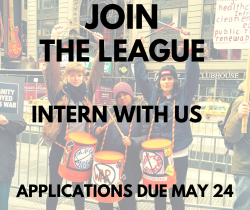 Join the League, intern with us, applications due May 24th