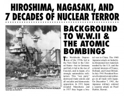 WRL Hiroshima-Nagasaki Exhibit 2012