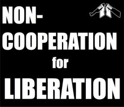 Noncooperation for Liberation