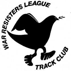 War Resisters League Track Club logo