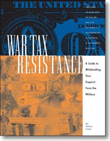 War Tax Resistance cover